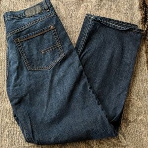 Calvin Klein relaxed straight easy fit jeans 34